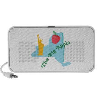 The Big Apple Laptop Speakers