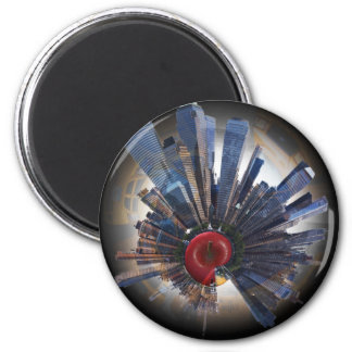 the big apple world.jpg 2 inch round magnet