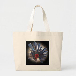 the big apple world.jpg large tote bag