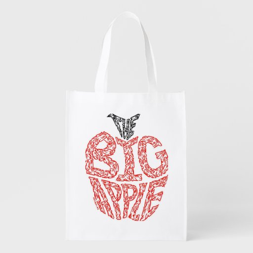 THE BIG APPLE MARKET TOTE