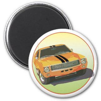 The Big Bad Orange 2 Inch Round Magnet