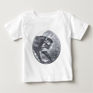 the big bad wolf baby T-Shirt