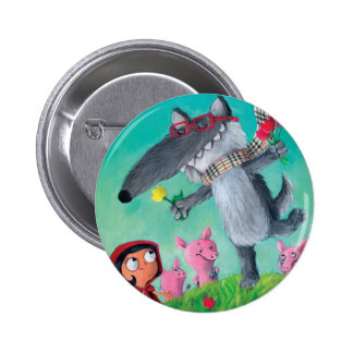 The Big Bad Wolf Button