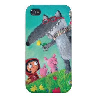 The Big Bad Wolf iPhone 4/4S Cover