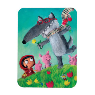The Big Bad Wolf Magnet
