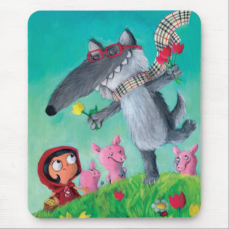 The Big Bad Wolf Mouse Pad