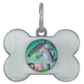 The Big Bad Wolf Pet Tags