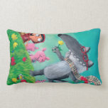 The Big Bad Wolf Throw Pillows