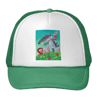 The Big Bad Wolf Trucker Hat