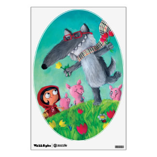 The Big Bad Wolf Wall Decal