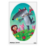 The Big Bad Wolf Wall Sticker
