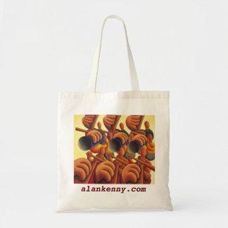 The big band, alankenny.com tote bag