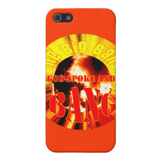 The Big Bang! God Spoke and BANG Case For iPhone SE/5/5s