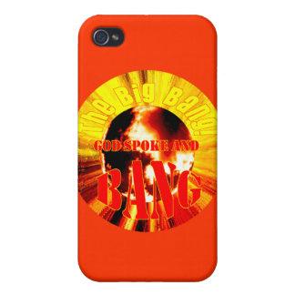The Big Bang! God Spoke and BANG Cover For iPhone 4