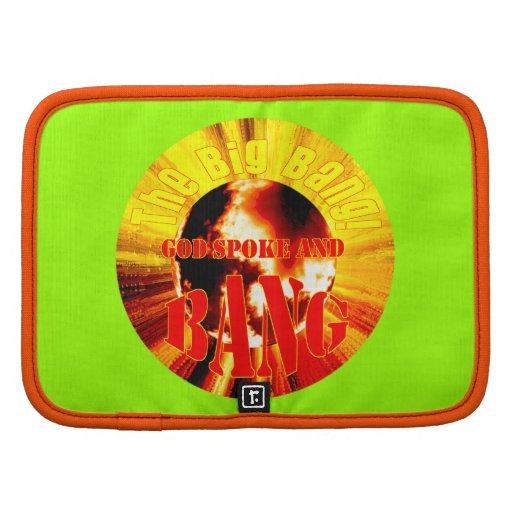 The Big Bang! God Spoke and BANG Folio Planners