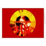 The Big Bang! God Spoke and BANG Greeting Card