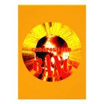 The Big Bang! God Spoke and BANG Personalized Invitations