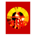 The Big Bang! God Spoke and BANG Post Cards