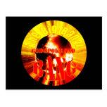The Big Bang! God Spoke and BANG Postcard