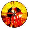 The Big Bang! God Spoke and BANG Round Clocks