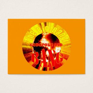 The Big Bang! God Spoke and BANG - Tract Cards /