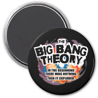 The Big Bang Theory 3 Inch Round Magnet