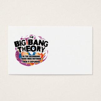 The Big Bang Theory Business Card