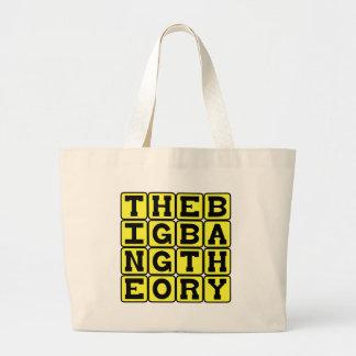 The Big Bang Theory, Physics Concept Canvas Bags