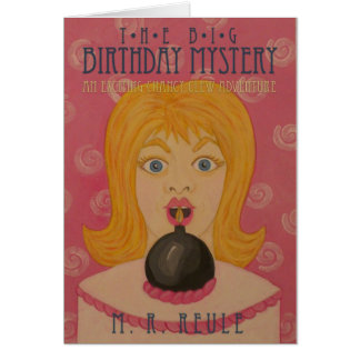 The Big Birthday Mystery!: Book Cover Art Card