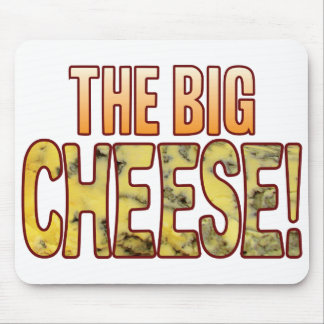 The Big Blue Cheese Mouse Pad