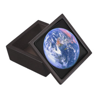 """The Big Blue Marble"" Jewelry Box"