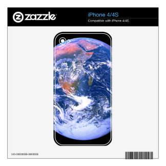 """""""The Big Blue Marble"""" Skin For iPhone 4"""