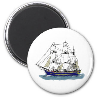 The Big Blue – Tall Ship Magnet