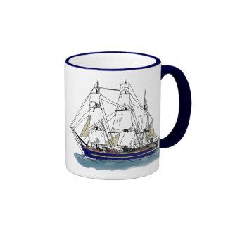 The Big Blue – Tall Ship Mugs