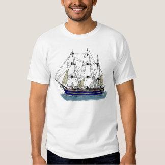 The Big Blue – Tall Ship T Shirt