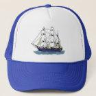 The Big Blue – Tall Ship Trucker Hat