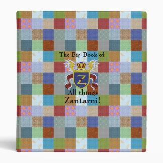 The Big Book of All Things Zantarni 3 Ring Binder