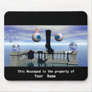 The Big Boot  Mousepad Mouse Pads