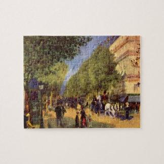 The big boulevards by Pierre Renoir Puzzles