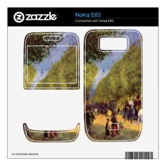 The big boulevards by Pierre Renoir Skins For Nokia E63