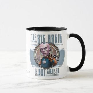 The Big Brain is Not Amused Mug
