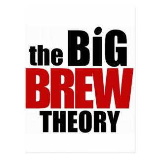 The Big Brew Theory Postcard