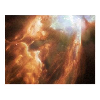 The Big Bright Bug Nebula Postcard