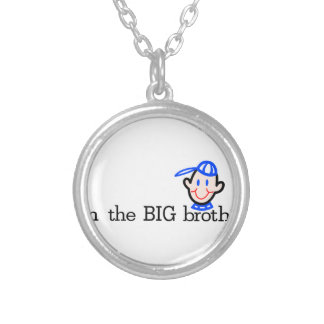 The Big Brother Round Pendant Necklace