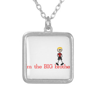 The BIG Brother Square Pendant Necklace