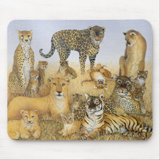 The Big Cats Mouse Pad