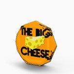 "The BIG CHEESE! Acrylic Award<br><div class=""desc"">The BIG CHEESE! boss design</div>"