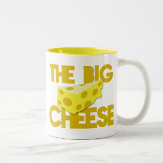 The BIG CHEESE! boss Two-Tone Coffee Mug