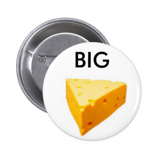 the big cheese 2 inch round button