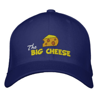 The Big Cheese Embroidered Baseball Cap